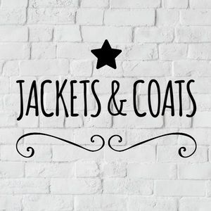 Jackets & coats listed below